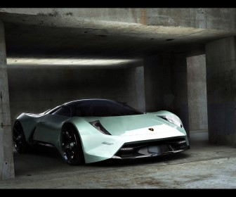 Concept Insecta In Garage Wallpaper