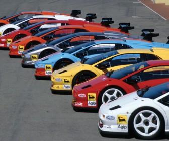 Diablo 1996 Race Cars Wallpaper