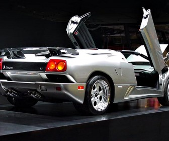 Diablo Roadster Rear Angle Wallpaper