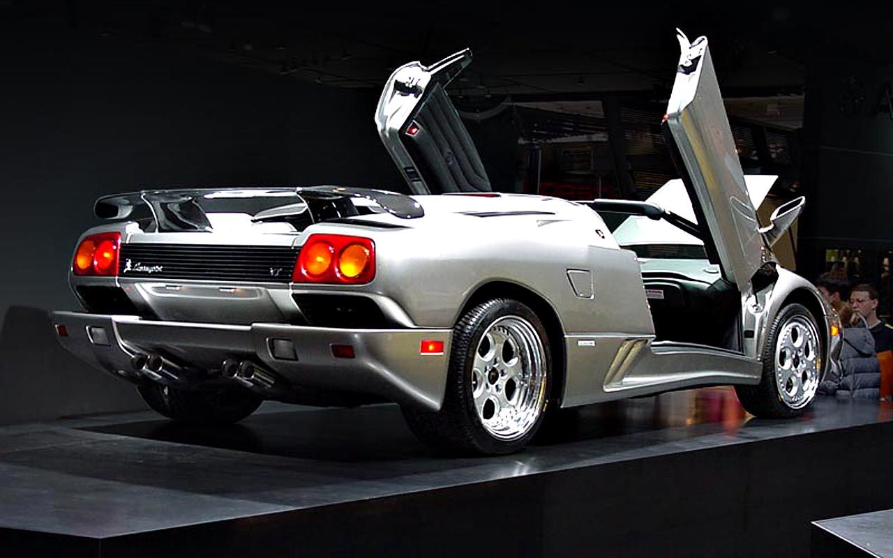 Diablo Roadster Rear Angle Wallpaper 1280x800