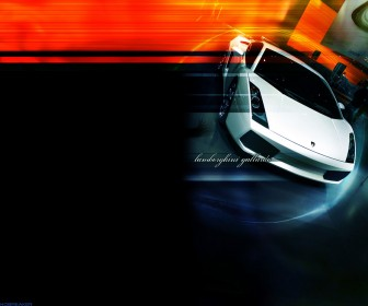 Gallardo Front High Angle Wallpaper