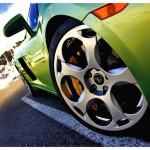 Gallardo Front Wheel Closeup Wallpaper