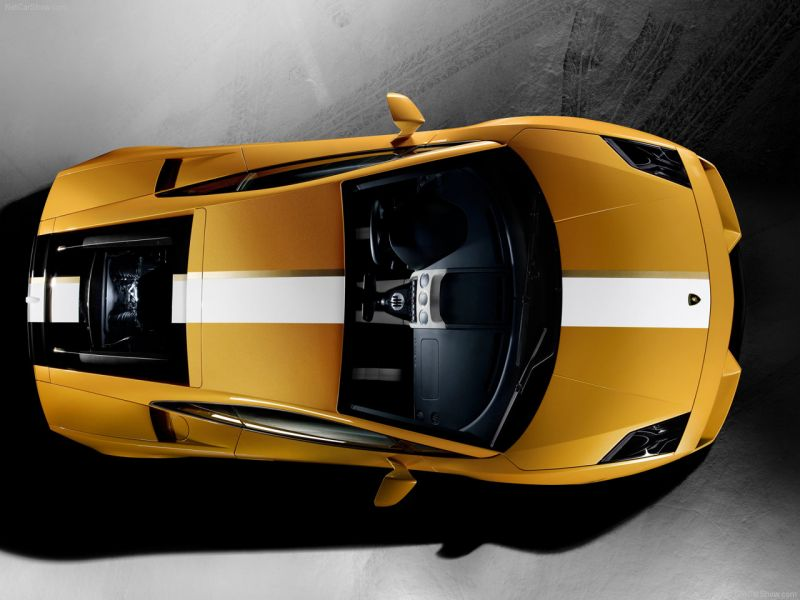 Gallardo Lp550 Top View Wallpaper 800x600