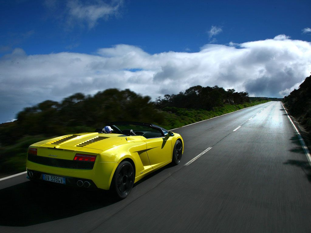Gallardo Lp560 Spyder Yellow