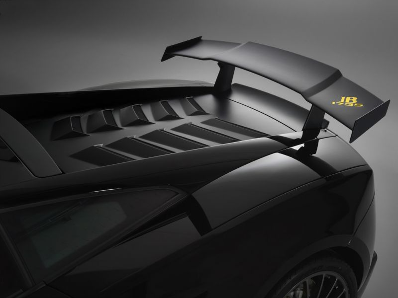 Gallardo Lp570 Blancpain Rear Wing Wallpaper 800x600