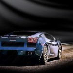 Gallardo Rear View Wallpaper