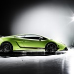 Gallardo Superleggera Lp570 Side View Wallpaper