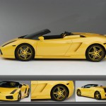 Gallardo Yellow Collage Wallpaper