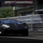 Murcielago Black Racing Wallpaper