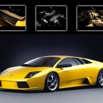 Murcielago Collage Wallpaper