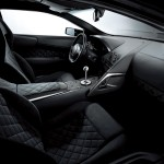 Murcielago Lp640 Black Interior Wallpaper