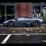 Murcielago Lp640 Competition Left Side View Wallpaper