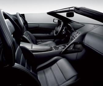 Murcielago Lp640 Roadster Interior Wallpaper