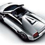 Murcielago Lp640 Roadster Top View Wallpaper