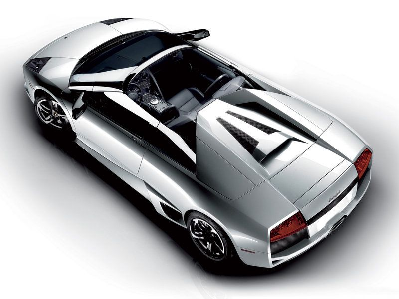 Murcielago Lp640 Roadster Top View Wallpaper 800x600