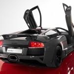 Murcielago Roadster Rear Angle Wallpaper