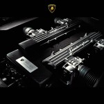 Murcielago V12 Engine Close Up Wallpaper