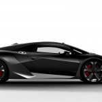 Sesto Elemento Black Right Side View Wallpaper
