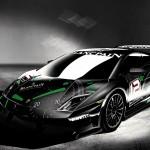 Super Trofeo Black Blancpain Front High Angle Wallpaper