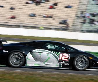 Super Trofeo Black Right Side View Wallpaper