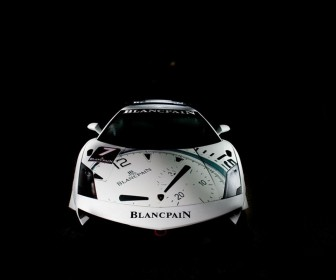 Super Trofeo Blancpain Front View Wallpaper
