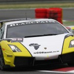 Super Trofeo Blancpain White And Yellow Wallpaper