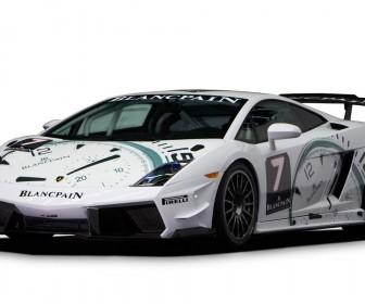 Super Trofeo Lp560 Blancpain Front Side Wallpaper